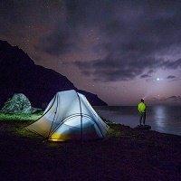Starlight camping